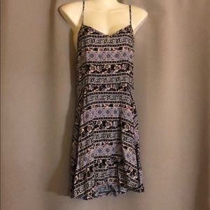 Pacsun flower pattern women dress